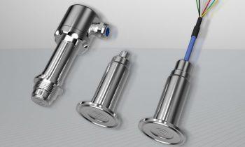 Der hygienische Druckmessumformer arbeitet besonders präzise und langlebig. Bild: Jumo