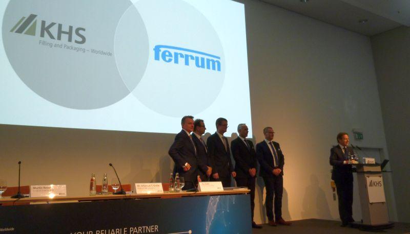 Bekanntgabe der Kooperation im Rahmen der Pressekonferenz auf der Braubeviale 2019. Bild: Kuhn