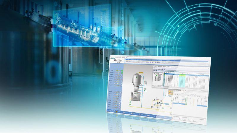 Siemens präseniterte auf der Braubeviale 2019 die neue Version des Brauerei-Prozessleitsystems. Bild: Siemens