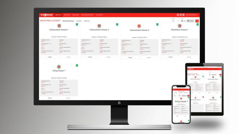 Dank digitaler Anlagenüberwachung hat der Braumeister alle Werte im Blick. Bild: Viessmann