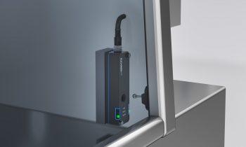 Die neue Türzuhaltung ist auch im Hygienedesign erhältlich und lässt sich dank kompakter Abmessungen leicht in das Design der Verpackungsmaschine integrieren. Bild: Euchner
