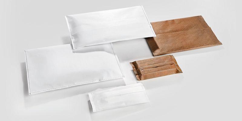 Anwender haben die Wahl, zwischen einer Folien- oder Papierverpackung. Beides kann auf nur einer Maschine produziert werden. Bild: Hugo Beck