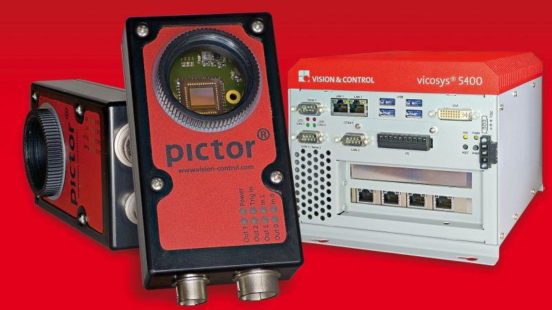 Kamera »Pictor N432«. Bild: Vision & Control