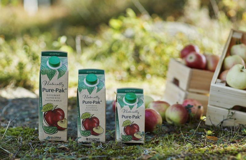 Der Karton von Elopaks Getränkeverpackungen stammt ausschliesslich aus verantwortungsvoll bewirtschafteten skandinavischen Wäldern. Bild: Elopak