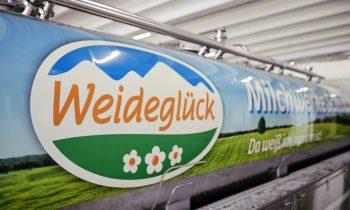 Weideglück ist eine Marke der Molkerei. Bild: Endress+Hauser