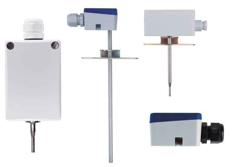 Die Raumtemperatursensoren von Jumo sind in verschiedenen Ausführungen für unterschiedliche Messaufgaben erhältlich. Bild: Jumo