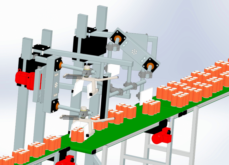 Beispiel für eine aktuelle Systemkonfiguration. Bild: Sortec