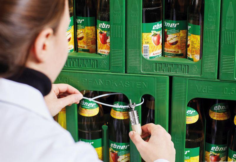 Datenloggersystem in der Getränkeherstellung. Bild: Testo