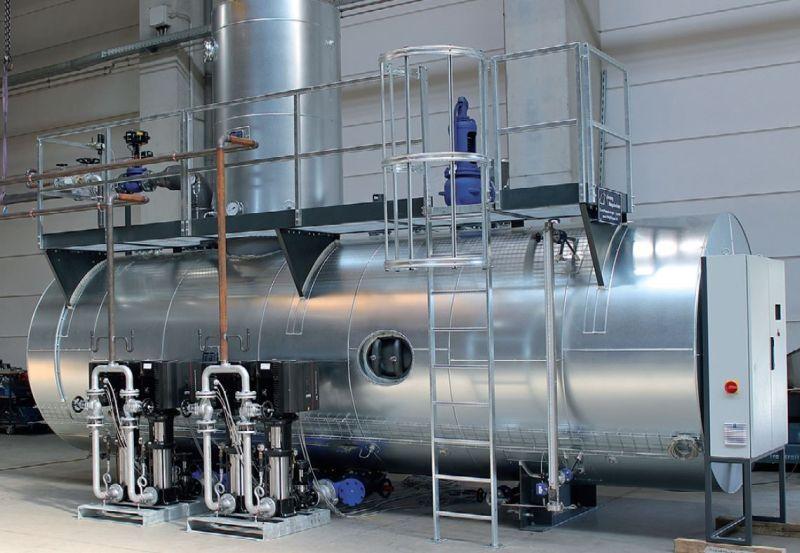Für die Feldschlößchen Brauerei fertigte Hagelschuer das größte Speisewassergefäß seiner Firmengeschichte. Bild: Hagelschuer