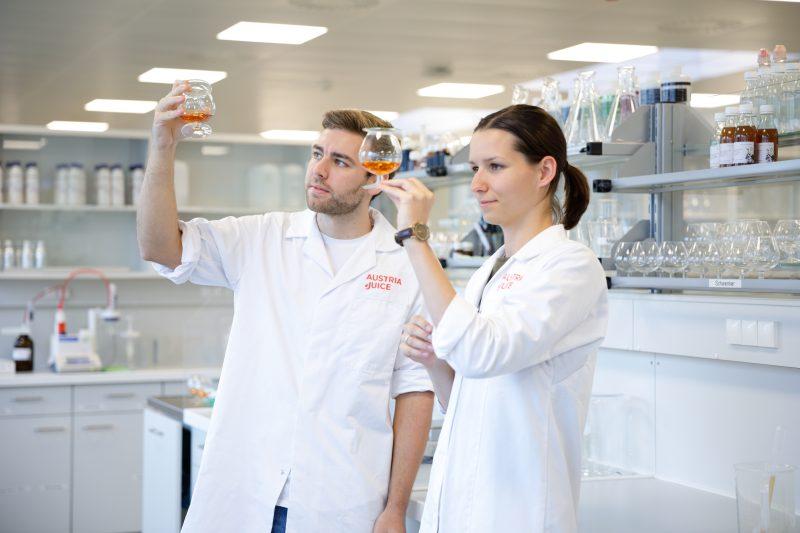 Austria Juice widmet sich intensiv der Forschung von kalorienreduzierten Fruchtsäften (Bild: Austria Juice).