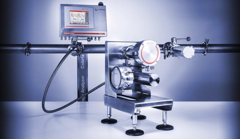 Das Getränkeanalysensystem kann als Inline- oder Bypasslösung eingesetzt werden (Bild: Anton Paar).