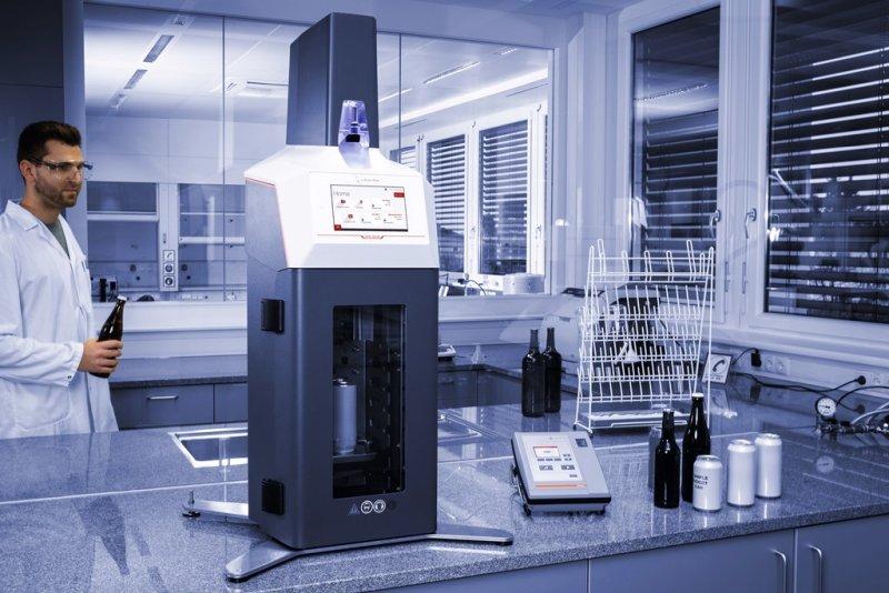 Messsystem zur Ermittlung des Gesamtsauerstoffgehalts von Getränken (Bild: Anton Paar).