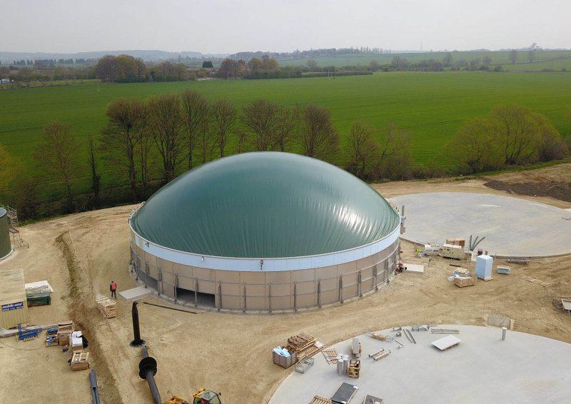 Die Bioreaktoren sollen täglich mit mehr als 250 Tonnen Lebensmittelresten befüllt werden (Bild: Weltec Biopower).