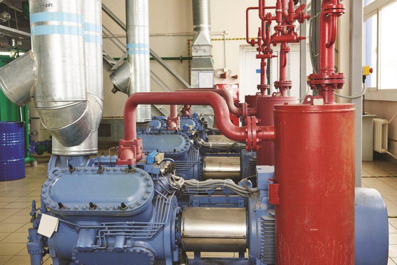 Der Wechsel zu natürlichen Kältemitteln bringt für die Betreiber eine Reihe neuer Herausforderungen mit sich, insbesondere hinsichtlich der Schmierstoffe. Bilder: Exxon Mobil