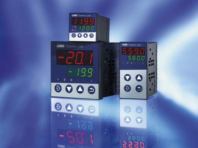 Die Temperaturregler eignen sich besonders für einfache Anwendungen. Sie sind in drei DIN-Formaten verfügbar. Bilder: Jumo