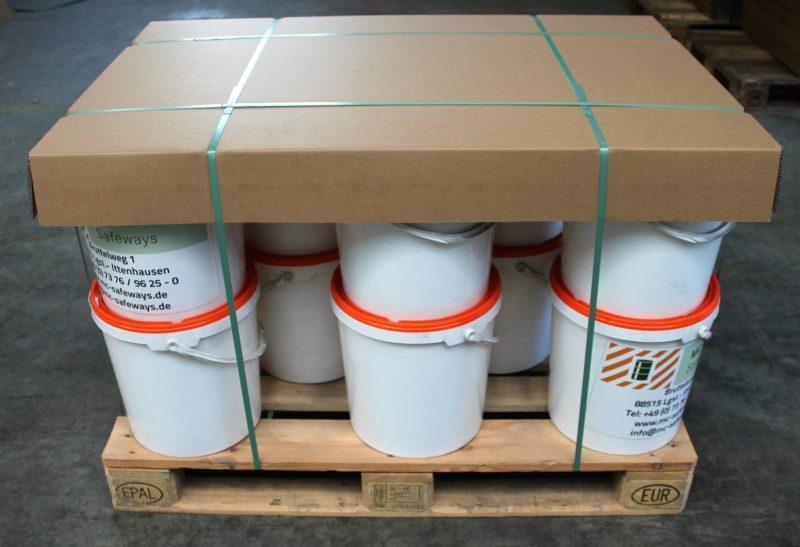 Abdeckungen und Zwischenlagen schützen die unterschiedlichsten Güter.