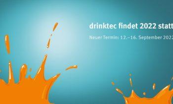 Die »drinktec« wird um gut 1 Jahr verschoben (Grafik: Messe München).