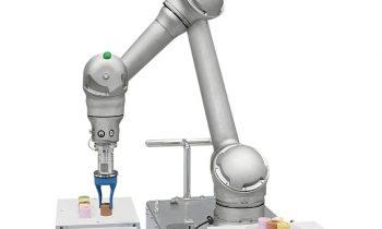 Hybrider Cobot in branchenspezifischer Ausführung für die Lebensmittel- und Pharmaindustrie (Bild: Yaskawa).