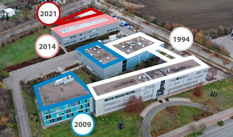 Zum dritten Mal seit 2009 wird das Technologiezentrum erweitert (Bild: Glatt).