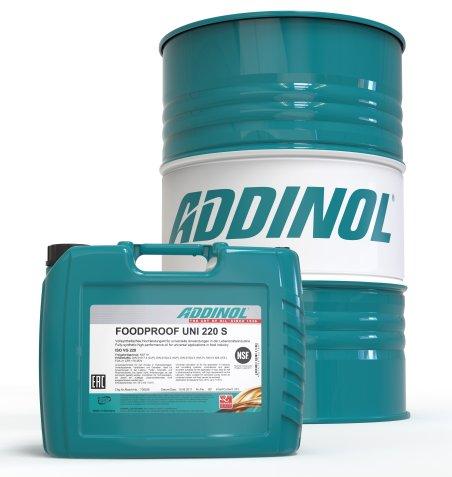 Ein Allround-Schmieröl für nahezu jede Anwendung in der Lebensmittel- und Getränkeindustrie (Bild: Addinol).
