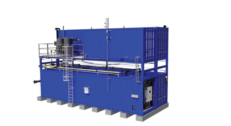 Die kompakten Abwasserbehandlungsanlagen sind den autonomen und vollautomatischen Betrieb ausgelegt (Bild: FlexBio).