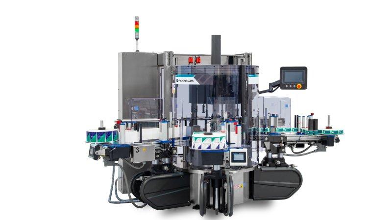 Die modular aufgebauten Etikettiermaschinen sind dank standardisierter Module in kurzer Zeit lieferbar (Bild: Procme).