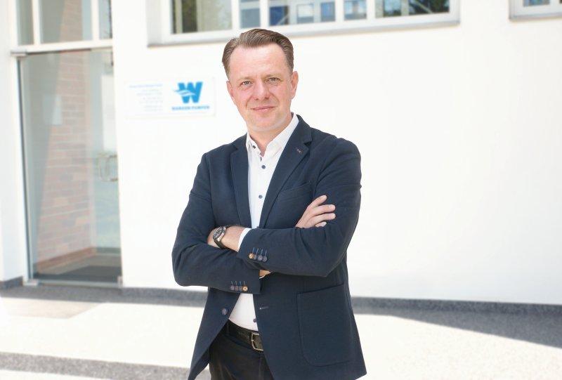 Seit 1. Juli 2021 ist Jan Talkenberger neuer Vertriebsleiter (Bild: Wangen Pumpen).