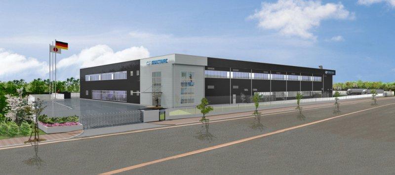 Das neue Gebäude erweitert die Kapazitäten und dient auch als Showroom (Bild: Multivac).
